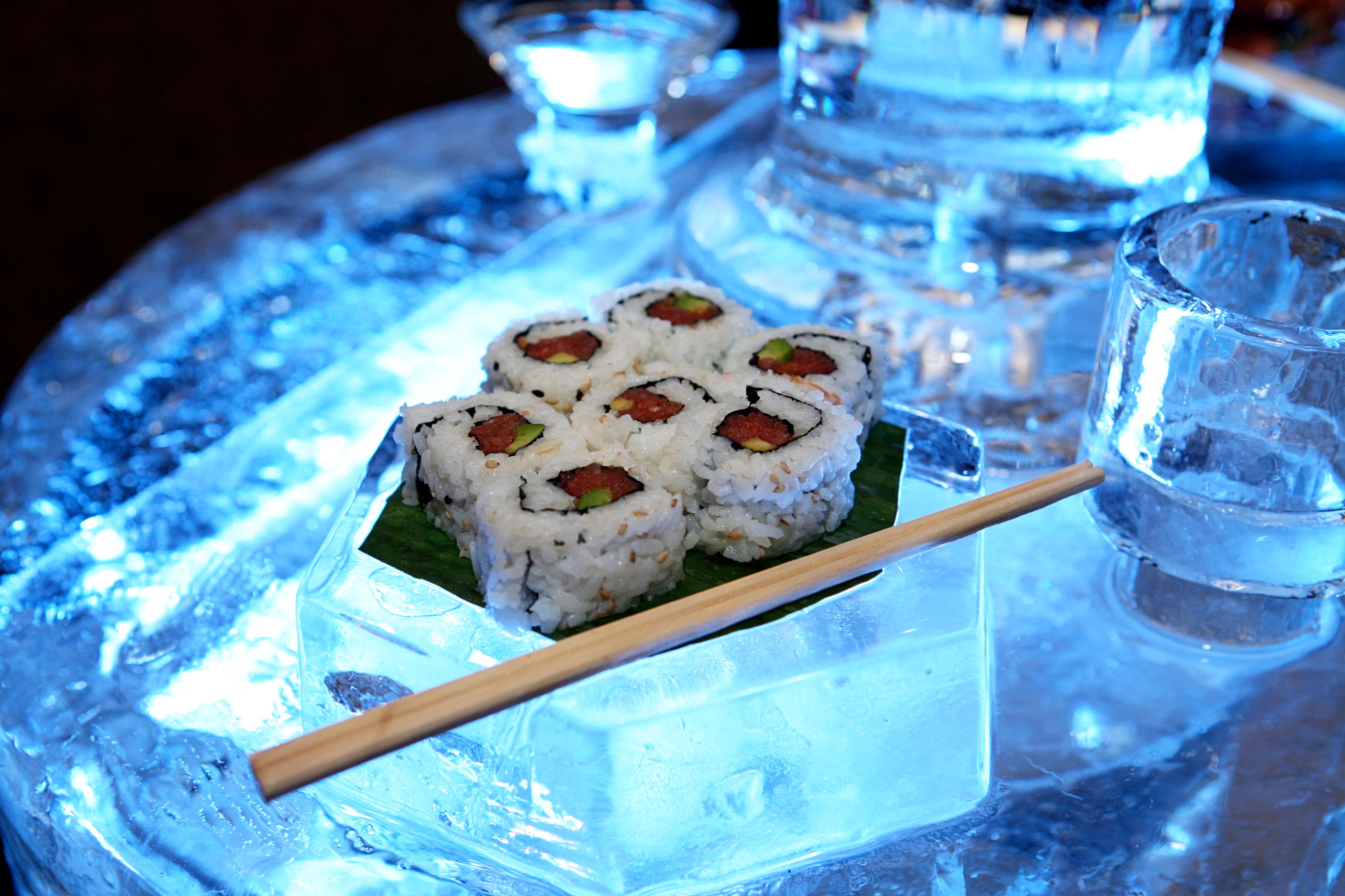 Ice Food Buffet Photo Credit Studio Laguna
